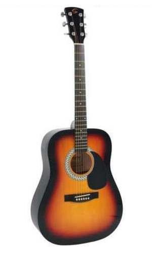 Parduodama akustinė gitara.