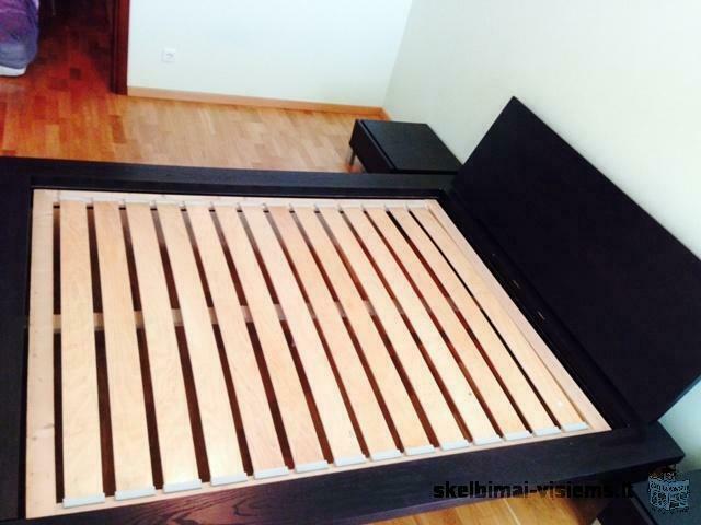 Parduodama miegamojo lova