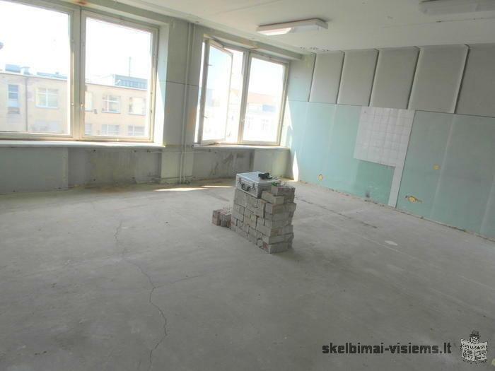 Parduodama patalpa Ukmergės miesto centre