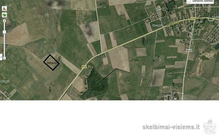 Parduodamas žemės sklypas Tendžiogalos k., Raseinių r. 1,68ha