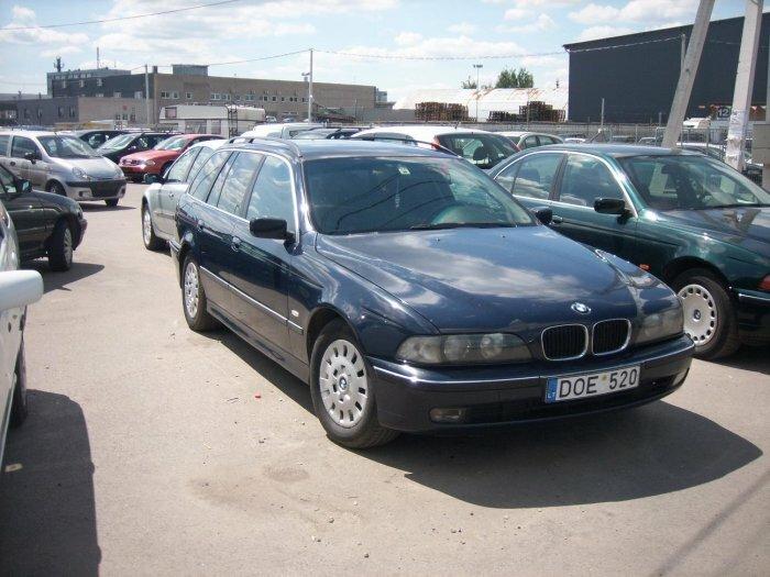 Parduodamas BMW 520