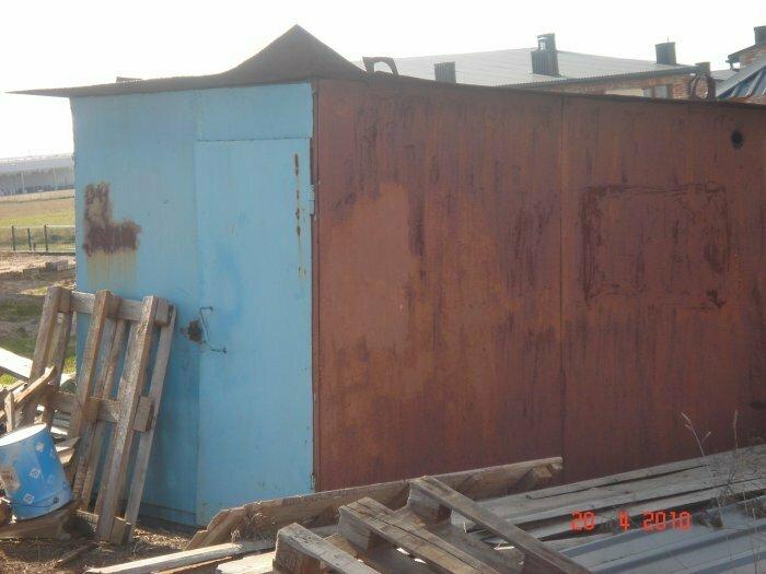 Parduodamas konteineris 2,1*3,0m