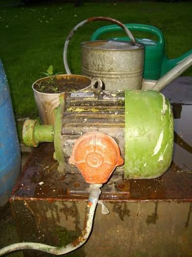 Parduodamas naudotas elektros variklis