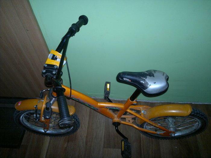 Parduodamas vikiskas dviratis