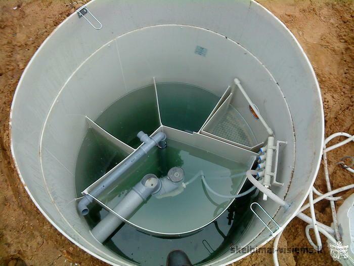 Parduodame biologinius nuotekų valymo įrenginius August ir Ko, montuojame