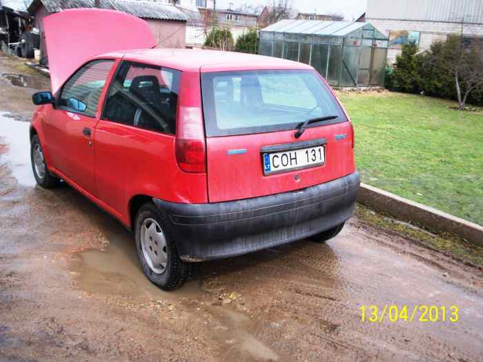 Parduodu Fiat Punto