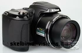 Parduodu beveik nauja fotoaparatą Nikon coolpix L310