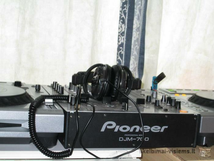 Parduodu dj aparatūrą 2x Pioneer cdj 850 ir Pioneer djm 700