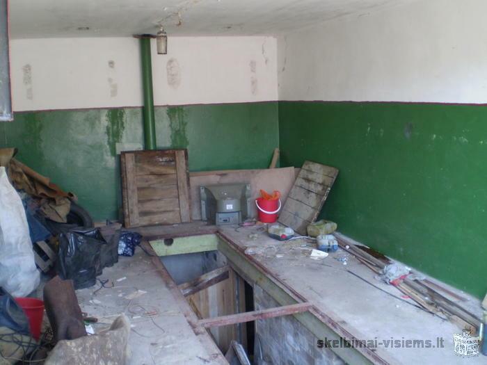 Parduodu garaza mazeikiuose