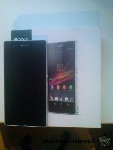 Parduodu mazai naudota telefona Sony xperia Z