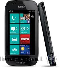 Parduodu naudota juoda Nokia Lumia 710