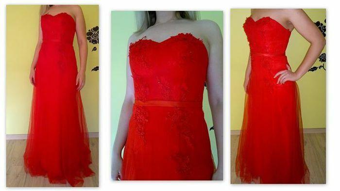 Parduodu raudoną suknelę