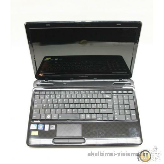Patikimas, patvarus TOSHIBA naudotas nešiojamas kompiuteris