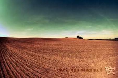 Perkame žemę Kauno ir Jonavos rajonuose