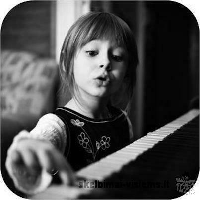 Pianino pamokos vaikams