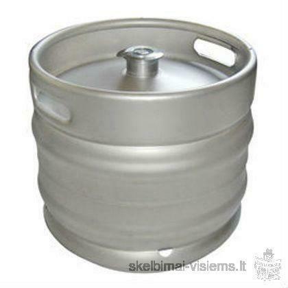 Pilstomas alus su išpilstymo įranga