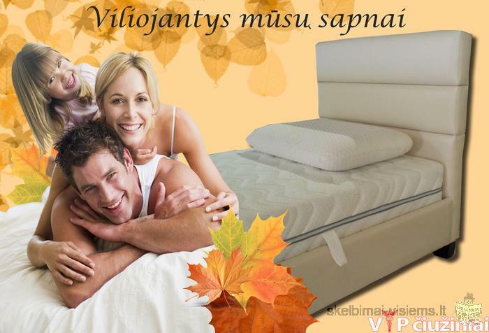 Platus modernaus dizaino lovų pasirinkimas