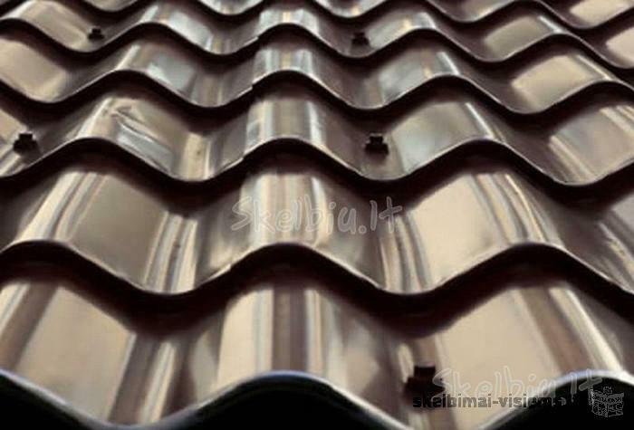 Plieninė stogo danga 19 Lt. Tel. 869937172