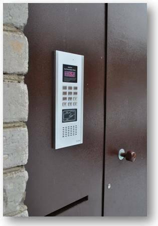 Praėjimo kontrole - telefonspynės daugiabučiams