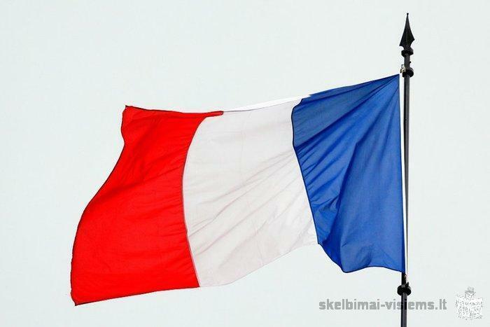 Prancuzu-anglu mokymas skype ir individualiai