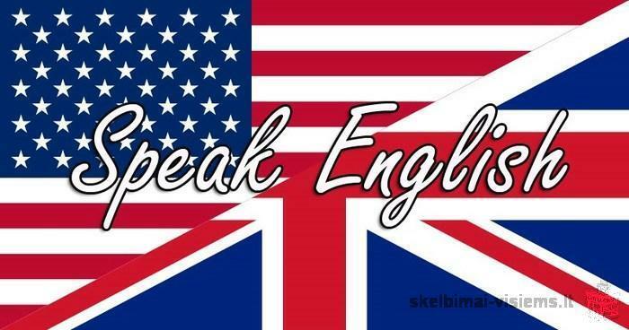 Privačios anglų kalbos pamokos