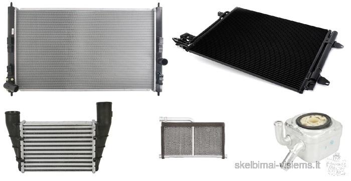 Radiatoriai,aušimas,kondicionavimas ir jų dalys