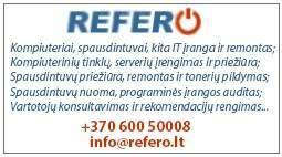Refero - Informacinių technologijų sprendimai Jums