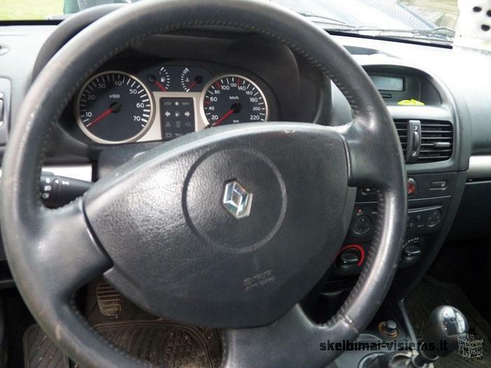 Renault Clio 2001 m. 1.4l
