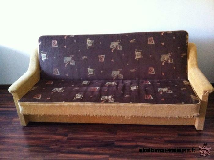 Ruda sofa-lova