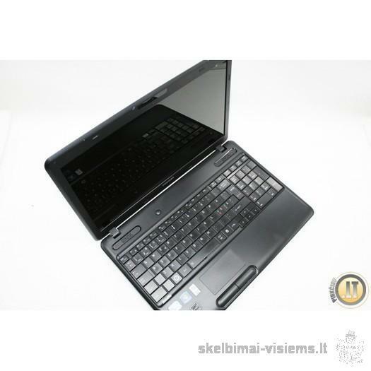 SU GARANTIJA, naudotas TOSHIBA nešiojamas kompiuteris