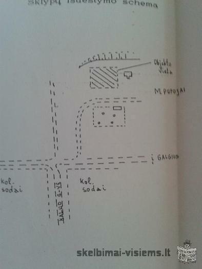 Sklypas Vilniuje