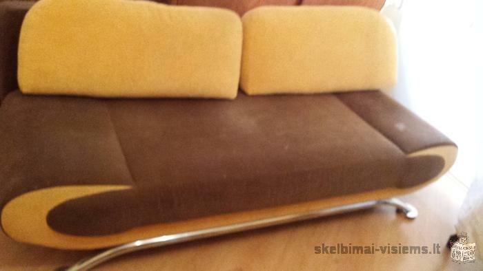 Skubiai parduodu sofa- lova