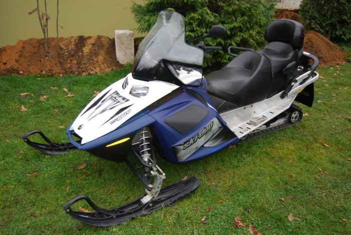 Sniego motociklas Ski doo GTX 550 F