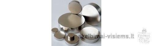 Stiprūs Ferito bei Neodymium magnetai.