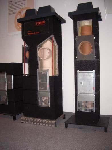 TONA - vokiškos dūmtraukių sistemos