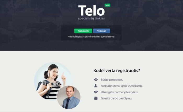 Telo.lt - specialistų katalogas ir darbo pasiūlymai