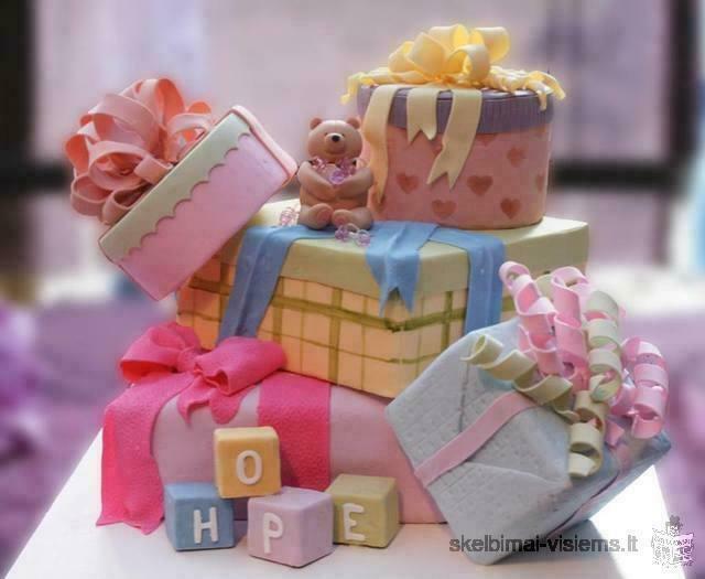 Tortu dekoravimo kursai