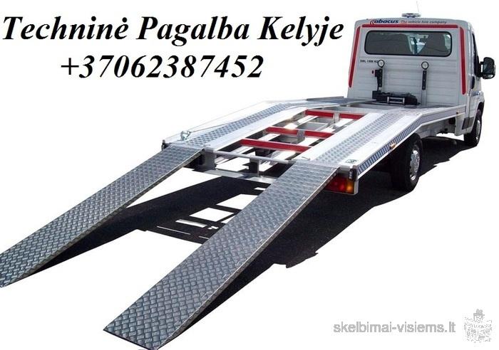 Tralo paslaugos, Traliukas ,Techninė Pagalba kelyje, NUOMA Pervešime Jūsų transportą! +37062387452 T
