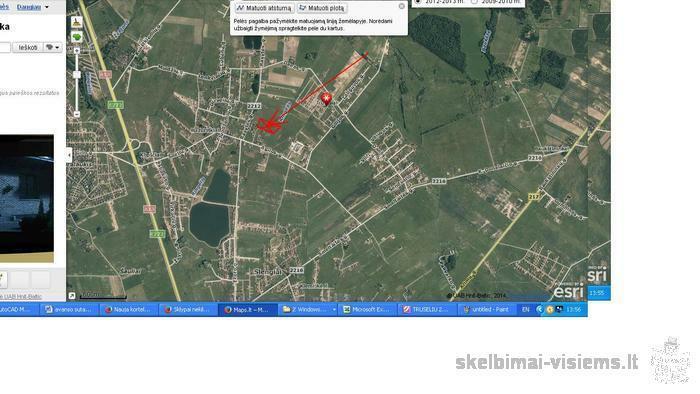 Trušelių k., Klaipėdos r., 8 a. žemės sklp.31500 lt.
