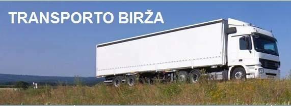 Užsiimate krovinių gabenimu?