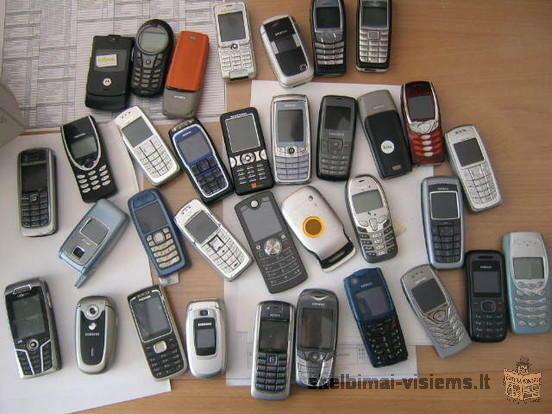 URMU TELEFONAI IR KITI DAIKTAI