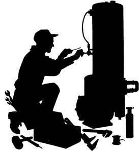 Vandens šildytuvų remontas