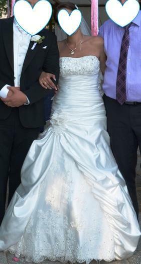 Vienetinė, patogi vestuvinė suknelė