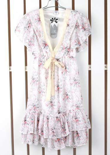 Visiškai nauja vasarinė trumpa šifono suknelė S-XS dydis