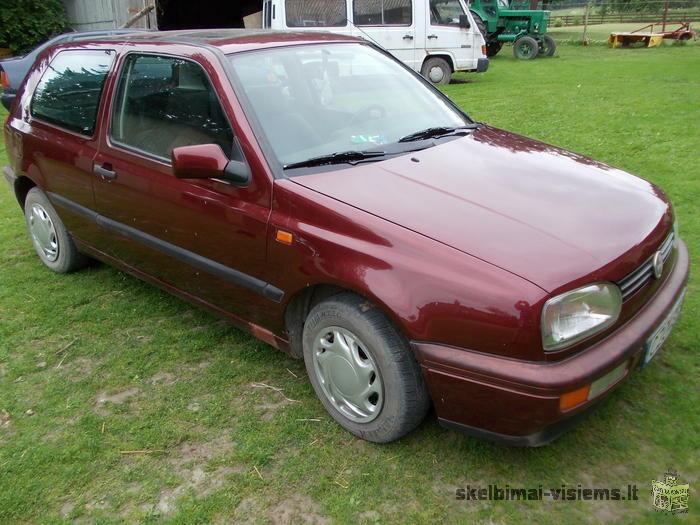Volkswagen Golf CL Hečbekas, 1993 m.