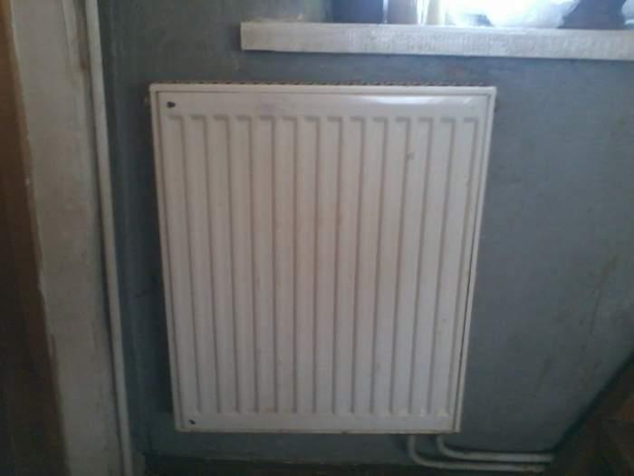 centralinis pecius su radiatoriais