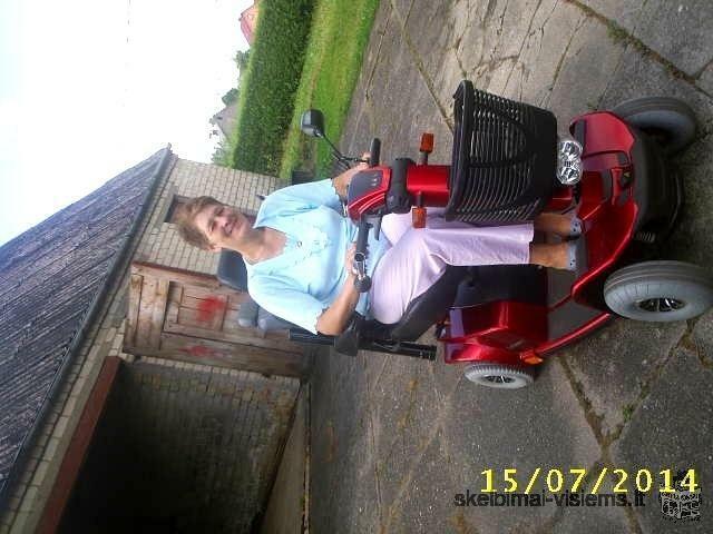 elektrinis vežimėlis deluxe