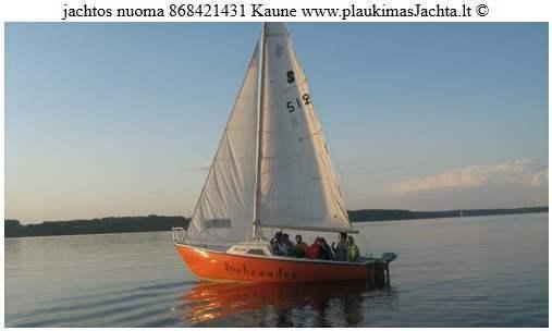 jachtos nuoma pasiplaukiojimui Kaune 8 684 21431