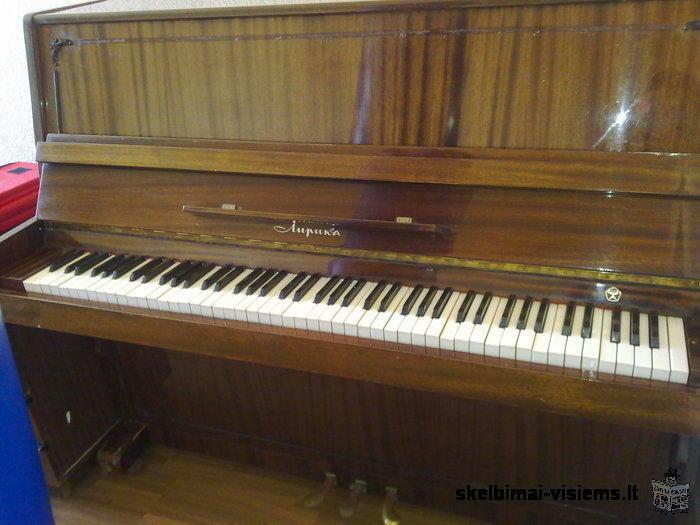 parduodamas pianinas