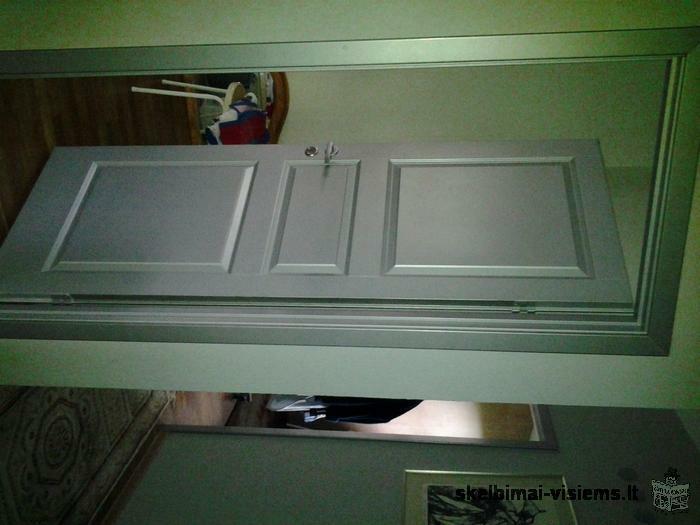 parduodu 3 naudotas duris